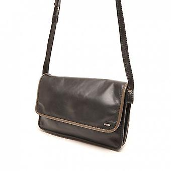 Berba Learn Crossover Handbag Soft 005-562-14 Black Taupe