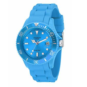Candy Time by Madison N.Y. Uhr Unisex U4167-06-1 hellblau
