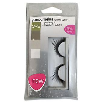 Qvs Look eyelashes Glamour - Style 21 (Woman , Makeup , Eyes , False eyelashes)