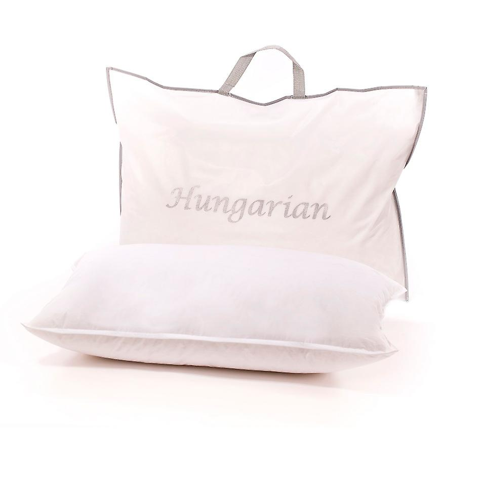 Hungarian White Goose Down Pillow