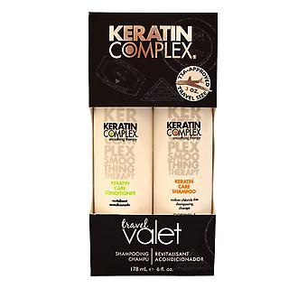 Keratin Komplex Keratin Pflege Duo Shampoo und Conditioner