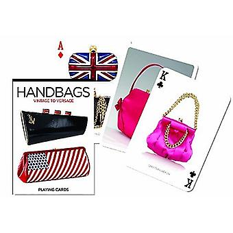 Handbags from Vintage to Versace set of 52 playing cards + jokers   (gib) 1