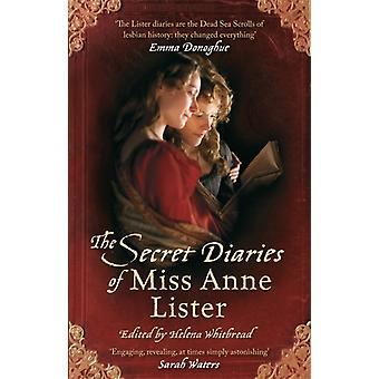 The Secret Diaries Of Miss Anne Lister (VMC) (Paperback) by Lister Anne