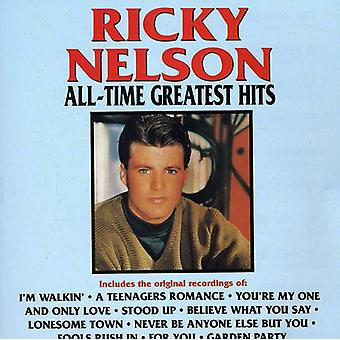 Ricky Nelson - All-Time Greatest Hits [CD] USA import