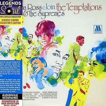 Diana Ross & the Supremes - Deltag fristelser [CD] USA importen