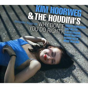 Kim Hoorweg - hvorfor gør du ikke lige? [CD] USA import