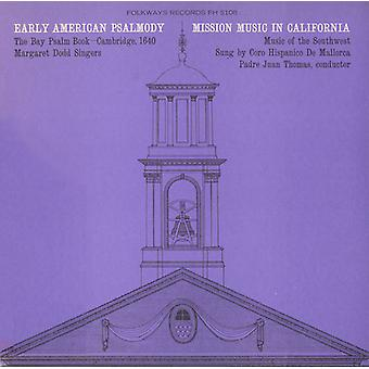 Early American Psalmody: The Bay Psalm Book-Cambri - Early American Psalmody: The Bay Psalm Book-Cambri [CD] USA import