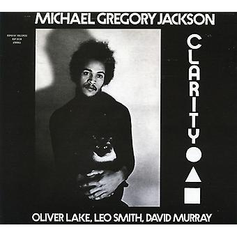 Michael Gregory Jackson - klarhed [CD] USA import
