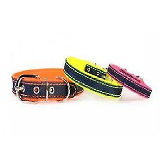 Camon Jeans Fluo Collar 15x300 mm (Dogs , Walking Accessories , Collars)