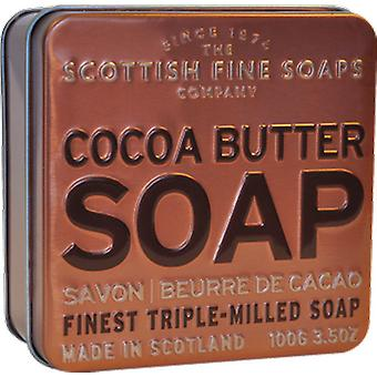 Scottish Fine Soaps beurre de cacao Soap Tin