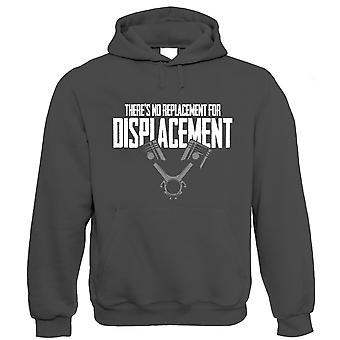No Replacement For Displacement, Muscle Car Hoodie
