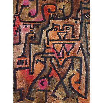 Paul Klee - Forest Witches Poster Print Giclee