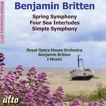 Royal Opera House Orchestra/I Musici/B - Britten Spring Symphony/Four Sea Inte [CD] USA import