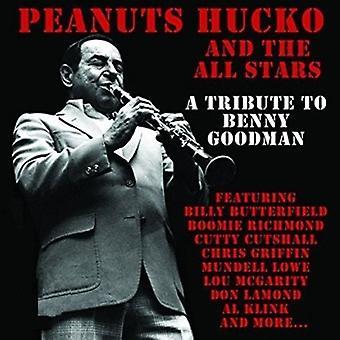 Hucko / Peanuts & All Stars - hyldest til Benny Goodman [CD] USA import