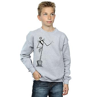 Disney jungen Nightmare Before Christmas Jack Pose Sweatshirt