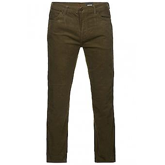 Wrangler Arizona stretch pants men's corduroy trousers khaki W120-N9-178