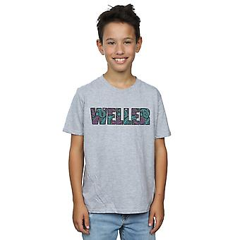 Paul Weller Boys Paisley Logo 1 T-Shirt