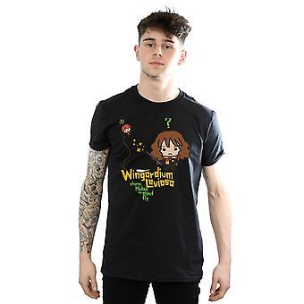 Harry Hermione Granger Wingardium Leviosa Junior camiseta Potter hombres