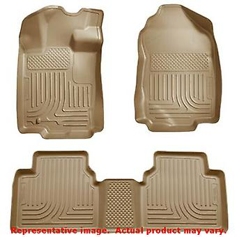 Husky Liners 98363 Tan WeatherBeater Front & 2nd Seat F FITS:FORD 2010 - 2012 F