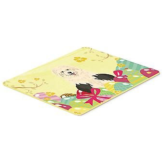 Easter Eggs Old English Sheepdog Kitchen or Bath Mat 20x30