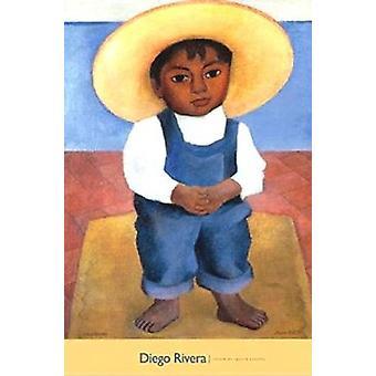 Retrato de Ignacio Sanchez Poster Print by Diego Rivera (24 x 32)