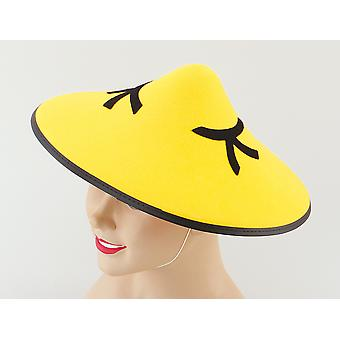 Chinese Coolie Felt Hat ?