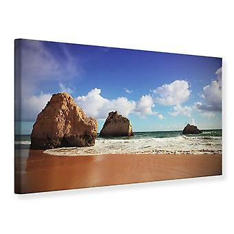 Canvas Print Beach Thoughts