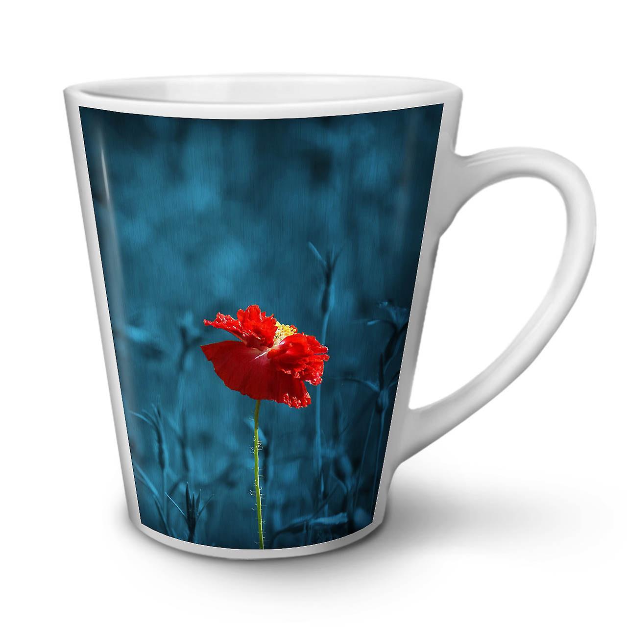 Photo Coffee Ceramic Latte OzWellcoda Flowers White New Tea Mug 12 yN8n0wOvm