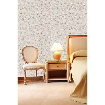 Graham & Brown Biege&White Wallpaper Roll - Decor Washable Floral Design - 18459