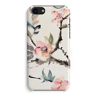 iPhone 7 Full Print Case (Glossy) - Japenese flowers