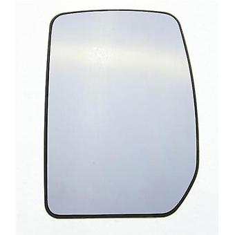 Left Mirror Glass (not heated) & Holder For Ford TRANSIT Bus 2000-2014