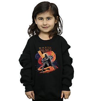 Star Wars Girls Darth Vader Swirling Fury Sweatshirt