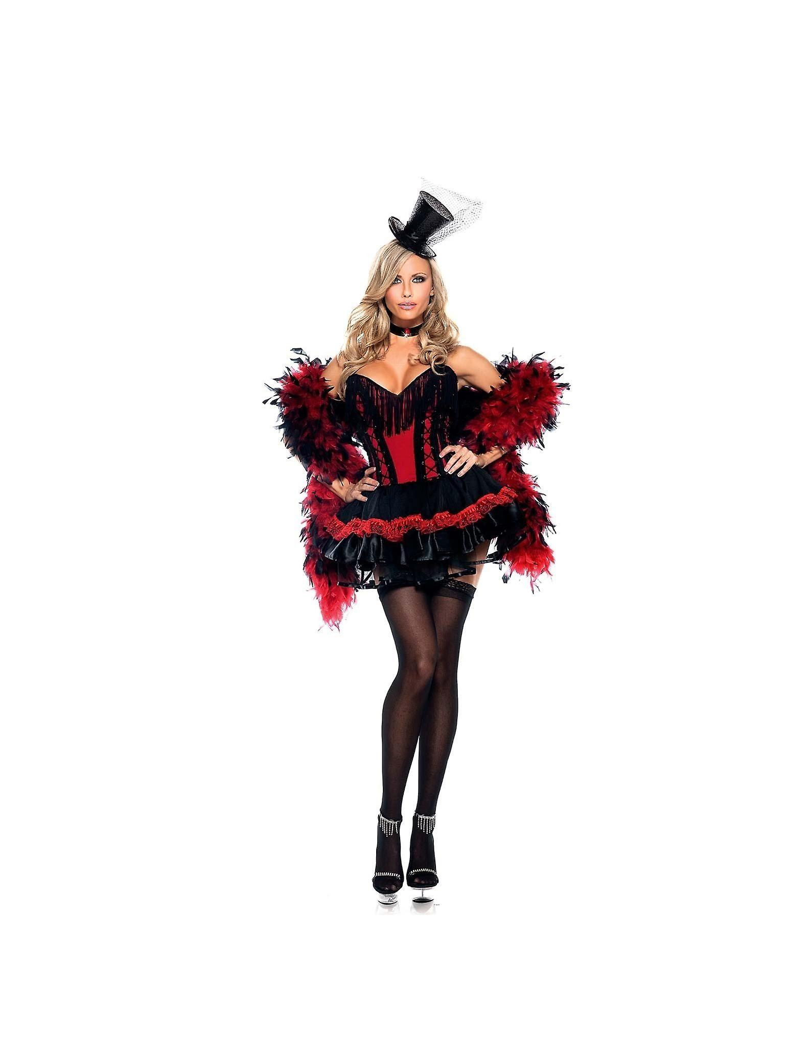 Be Wicked BW1060 2 piece Speak Easy Saloon Girl womans costume