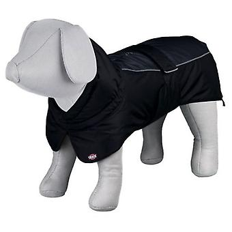 Trixie Prime Coat Black-Grey (Dogs , Dog Clothes , Coats and capes)