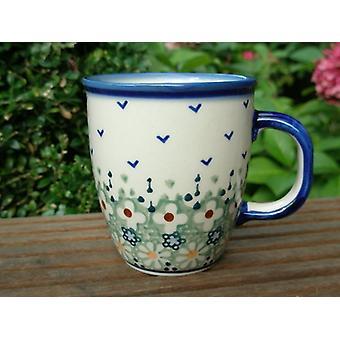 Pot, OK. 300 ml, Ø 9 cm, Wysokość 10 cm, podpis - Polski ceramiki - BSN 62334