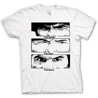 Mens T-shirt - Good Bad And The Ugly - BW