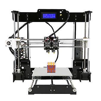 Anet A8 M DIY 3D Printer Kit - Dual sproeiers, afdrukken Online & off line, 40-120mm/s snelheid, hoge precisie