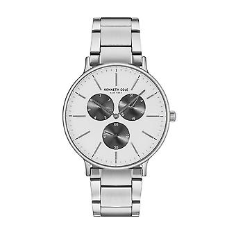 Kenneth Cole New York men's watch wristwatch stainless steel KC14946007