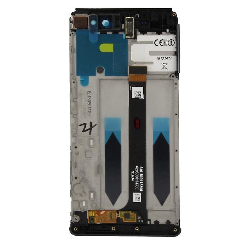 Sony Display LCD Komplett Einheit mit Rahmen für Xperia XA Ultra F3211 Schwarz Ersatzteil