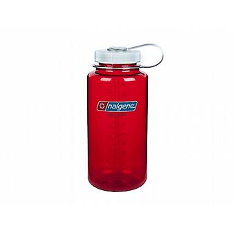 Nalgene Wide Mouth Tritan 1L Bottle (Red)
