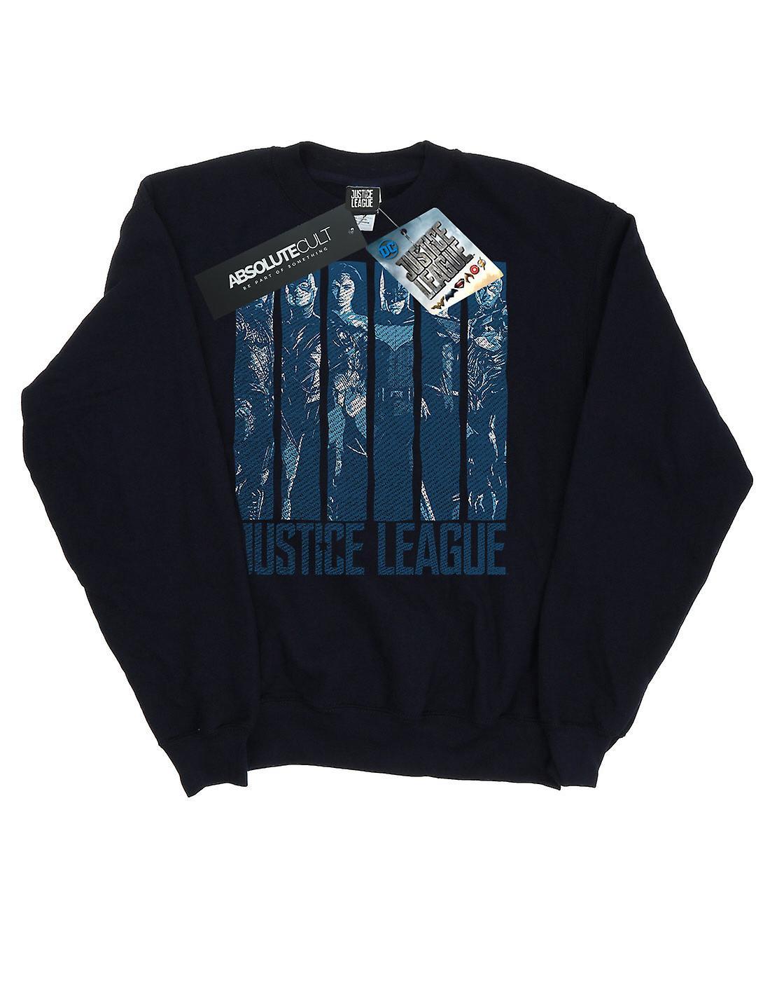 DC Comics flickor Justice League film dubbel Indigo tröja