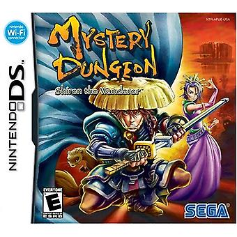 Mystery Dungeon Shiren the Wanderer Nintendo DS Game