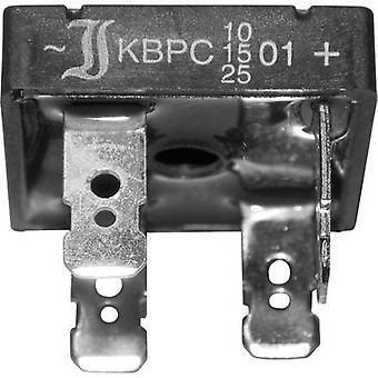 Diode bridge Diotec KBPC10/15/2501FP KBPC 100 V 25