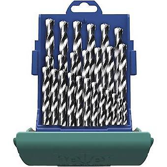 Metal HSS twist drill bit set 25 piezas Heller 219