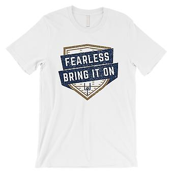 FEARLESS Los Angeles LA T-Shirt Mens Funny Graphic Game Day Tee