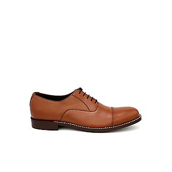 Handcrafted Premium Leather Dalton Cap Toe Oxford Shoes