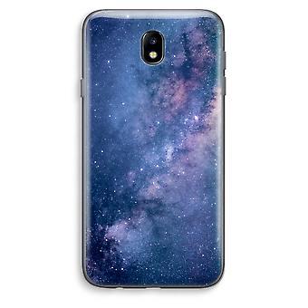 Samsung Galaxy J7 (2017) Transparent Case - Nebula