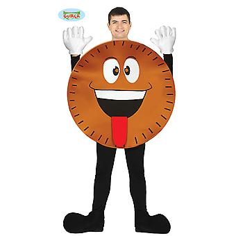 Guirca cookie costume for adult unisex Carnival Carnival Emoji