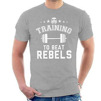 Original Stormtrooper Training To Beat Rebels Men's T-Shirt