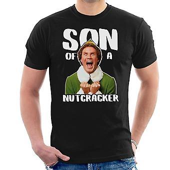 Figlio di Will Ferrell elfo di Natale di t-shirt da uomo schiaccianoci